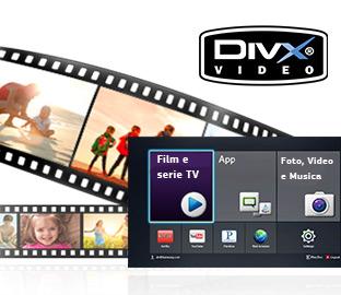 Supporto DiVX