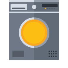 Lavasciuga maxi capienza (+9kg)