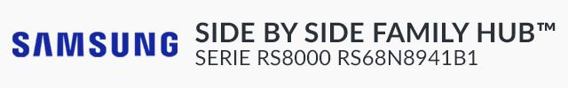 Samsung Side by Side RS68N8941B1